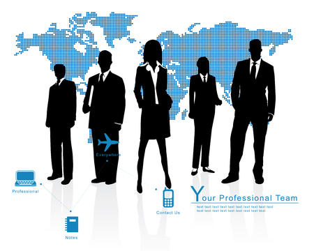 Professional Team - Corporate Business Template Background