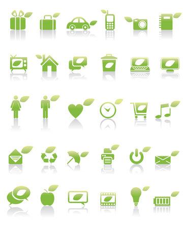 Green Concept Icon Stock Vector - 5043737