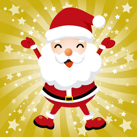 Lovely Santa Claus Stock Vector - 5498460