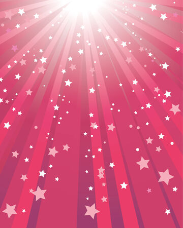Abstract red star background Vector