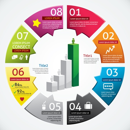 Modern Design Business Infographics Template