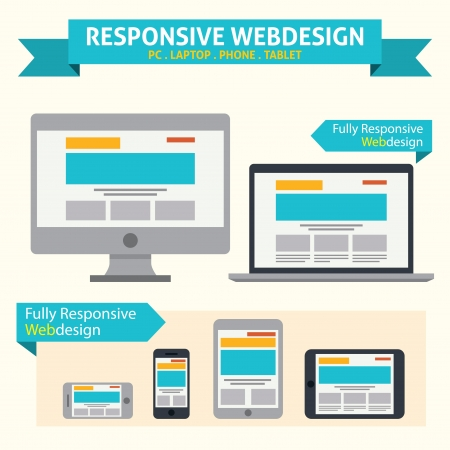 site: Responsive Web Design Illustration
