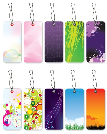New style bookmark designs  Vector
