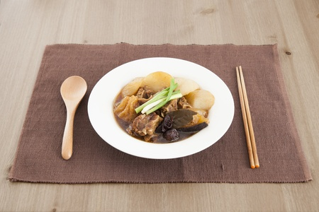 Chinese beef stew photo