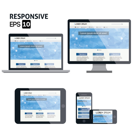 responsive web design: responsive web design for different devices
