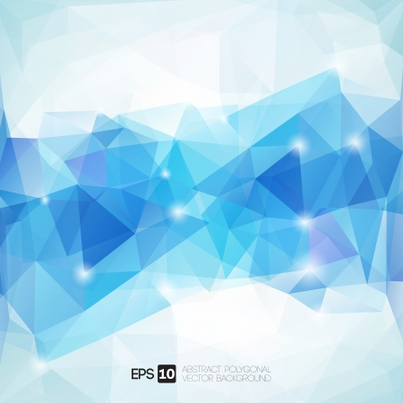 Abstract polygonal geometric background Illustration