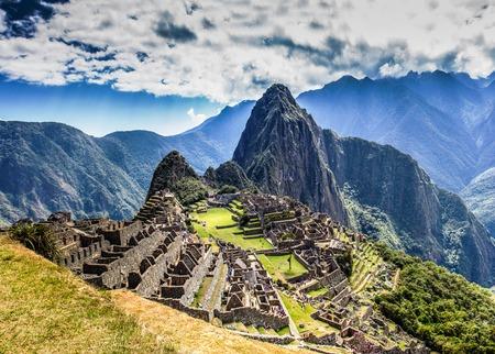 peru: Machu Picchu Lost city of Inkas in Peru