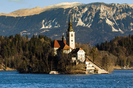 Church of the Assumption Lake Bled Slovenia