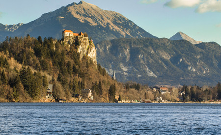 Bled Castle, Slovenia Stock Photo