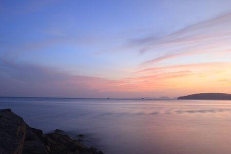 aonang: Aonang sunset  and the rock