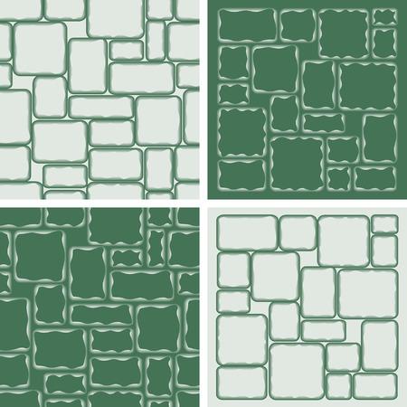 stonewall: Four stonewall patterns