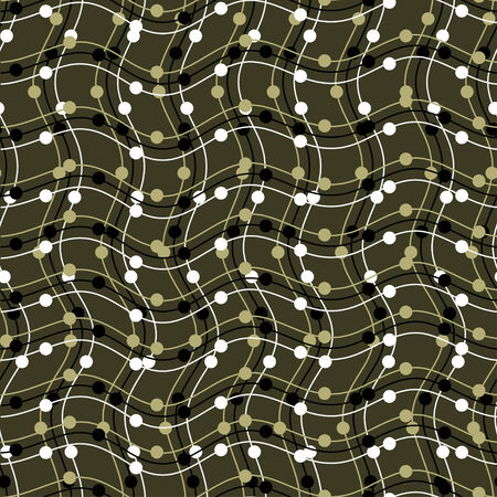 Abstract mesh seamless pattern Vector