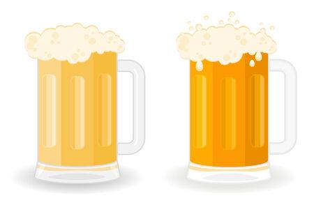 chope biere: Verres avec une bi�re