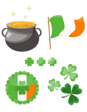 St Patrick's Day set Stock Vector - 6654350