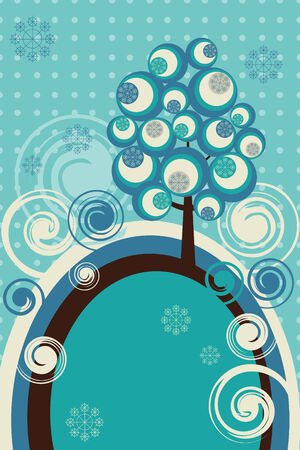 wintry: Winter postcard