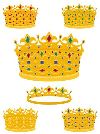 beauty queen: Golden crowns