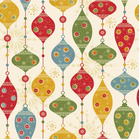 heart seamless pattern: Seamless pattern with balls and stars