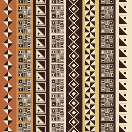 primitive art: Abstract African background