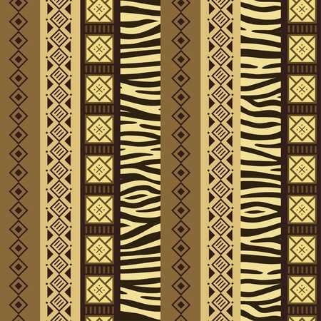African stile background  Vector