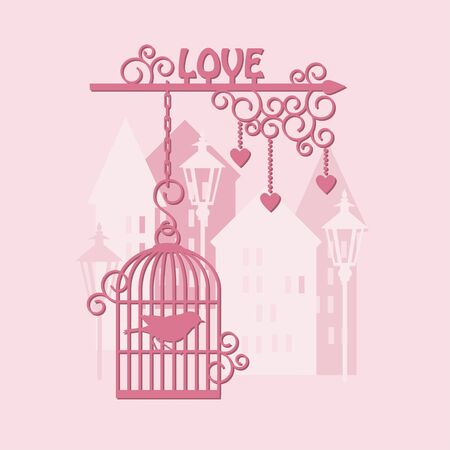 Advertising for lovers, happy valentine s day Vector