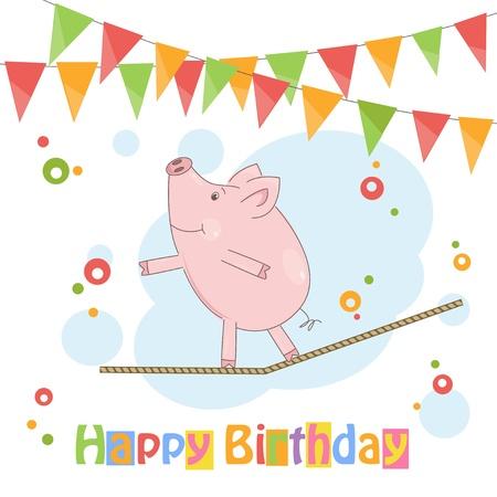 rope walker: Happy Birthday!