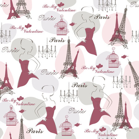 Stylish seamless pattern for holidays  Vector Vector
