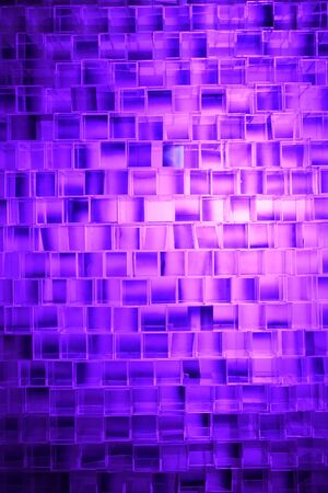 a block background made from many plastic square blocks put in random position