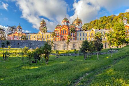 NEW AFON, ABKHAZIA: New Athos Monastery.