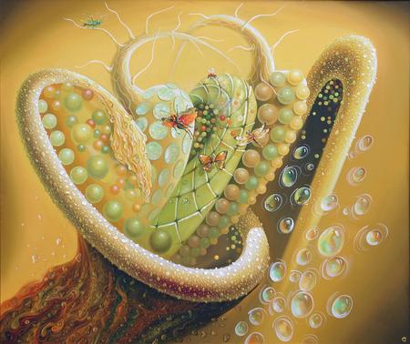 An abstract artwork of An Opus