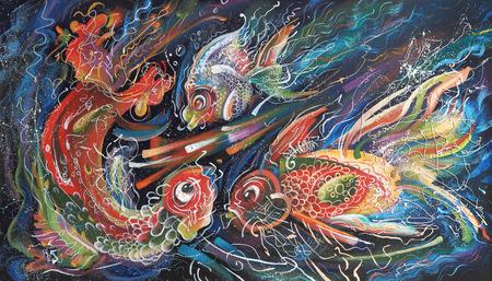 Artwork. The Sea Trio. Author: Nikolay Sivenkov.