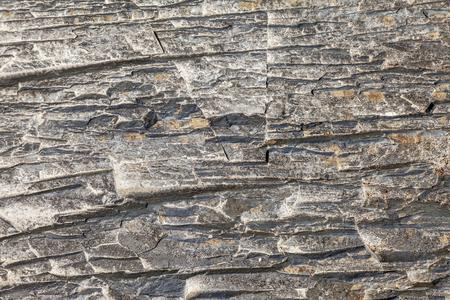 Seamless stone texture in a mountain gorge. Standard-Bild