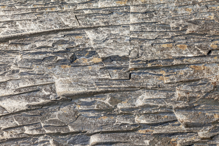 Seamless stone texture in a mountain gorge. 免版税图像