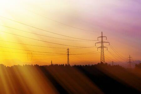 redes electricas: L�neas de energ�a el�ctrica. Potencia y energ�a el�ctrica. Energ�a alternativa