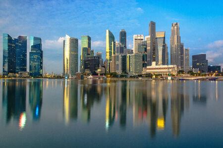 marina bay: Singapore center at Marina Bay