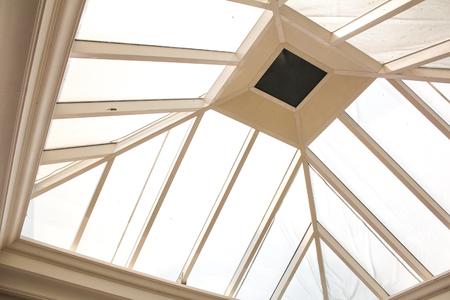 skylights: ceiling Stock Photo