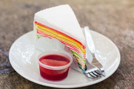 crap: cake Stock Photo