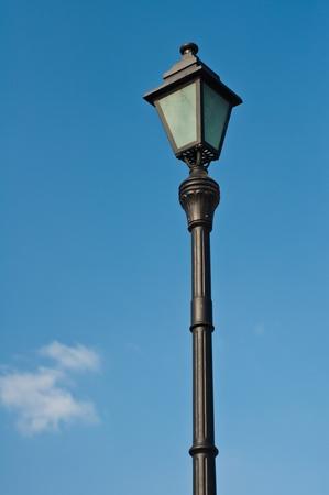 lamp post: Street  lamp  pole