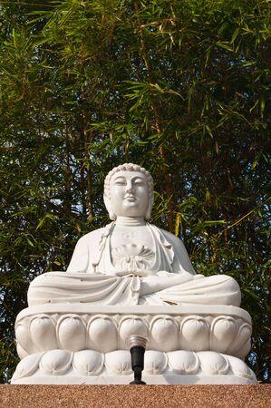 The sitting Bodhisattva Statue photo