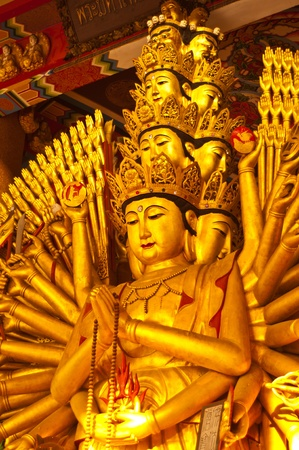 Quan Yin with ten thousand hands photo