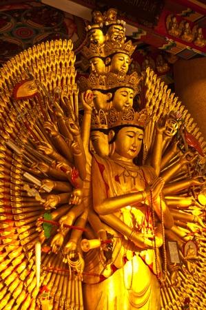 quan yin: Quan Yin with ten thousand hands in Bangkok  thailand