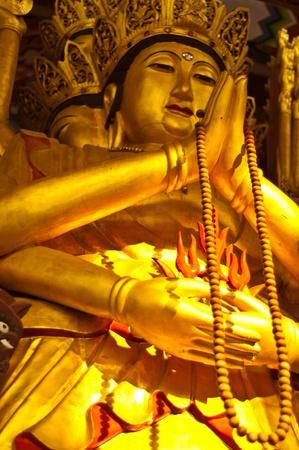 quan yin: Quan Yin god  in Bangkok  thailand