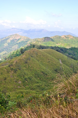 demarcation: Demarcation of the mountain region between Thailand and Myanmar