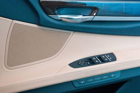 Control panel in a car door Stock Photo - 12920667