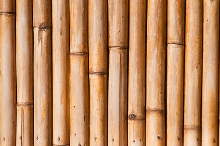 Brown bamboo wall texture photo