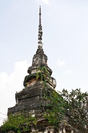 Ancient pagoda in Thailand photo