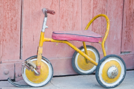 antique tricycle: Antique tricycle