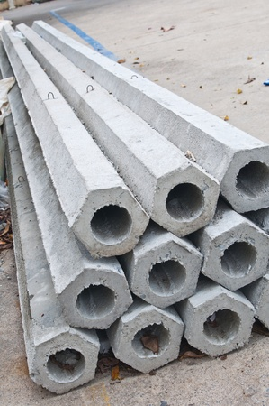 Pillars for construction  Stock Photo - 15163649