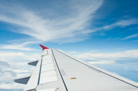 View out of airplane Stock Photo - 15571923