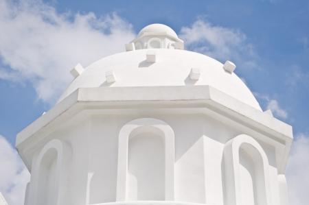 White Santorini ,building in europe style Stock Photo - 16063684