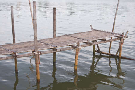 Bamboo bridge Stock Photo - 16193123